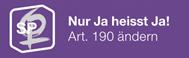 Petition «Nur JA heisst JA!»
