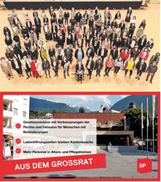 Vereidigung neues Kantonsparlament und erste Session