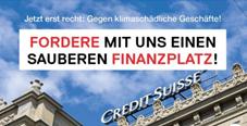 Die SP fordert einen sauberen Finanzplatz!