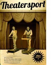 Theatersport/ Improvisationstheater - Samstag, 24. November - 20 Uhr - Bistro